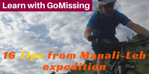 mountain biking tips from Manali Leh