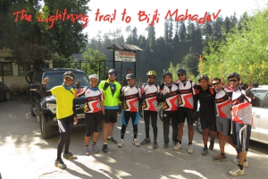 Bijli Mahadev Cycling tour