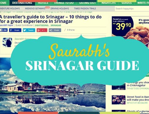 Saurabh's Comprehensive Guide to Srinagar for www.happytrips.com