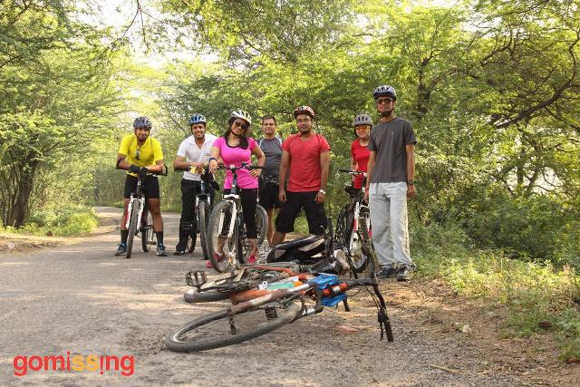 Training rides for Manali-Leh