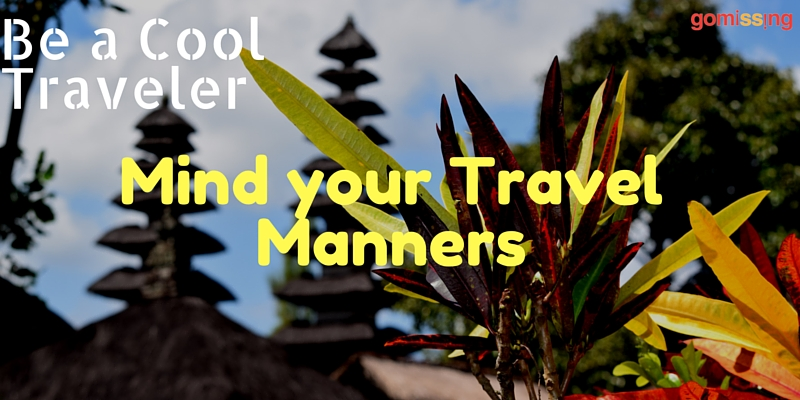 Travel Manners