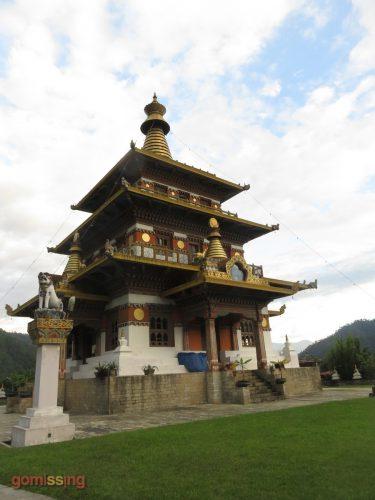 Khamsum Yulley Namgyal Chorten temple bhutan