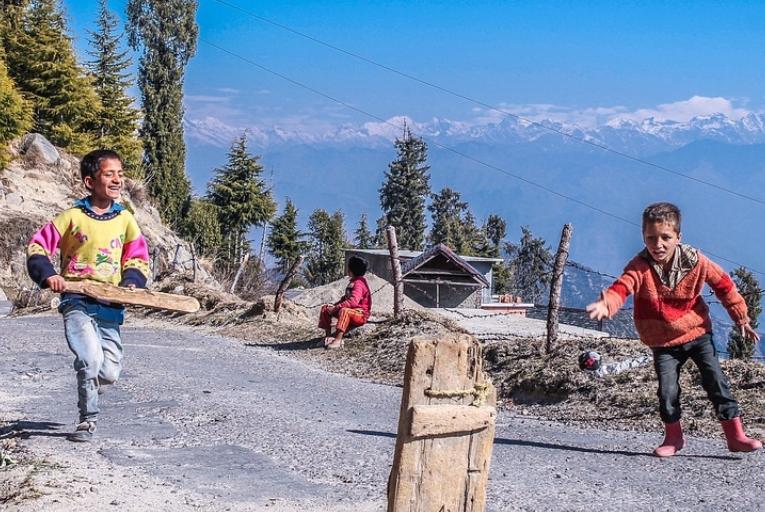 Himachal Pradesh near Bir Billing