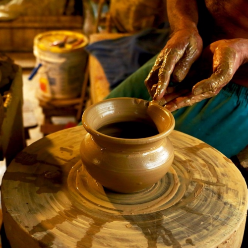andretta village, pottery, himachal pradesh