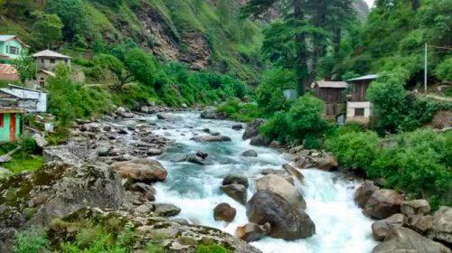 Tirthan Landscape