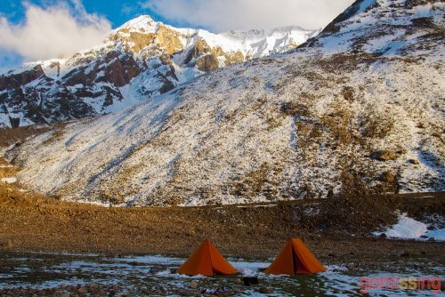 One of our unforgettable campsites.