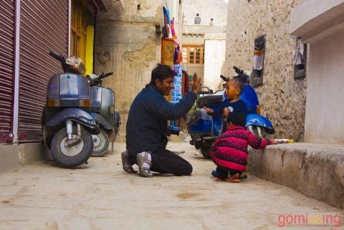 Local people of Manali Leh