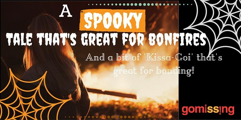 Spooky tales for a camping bonfire