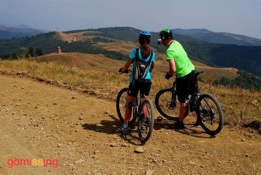Georgia cycling trip