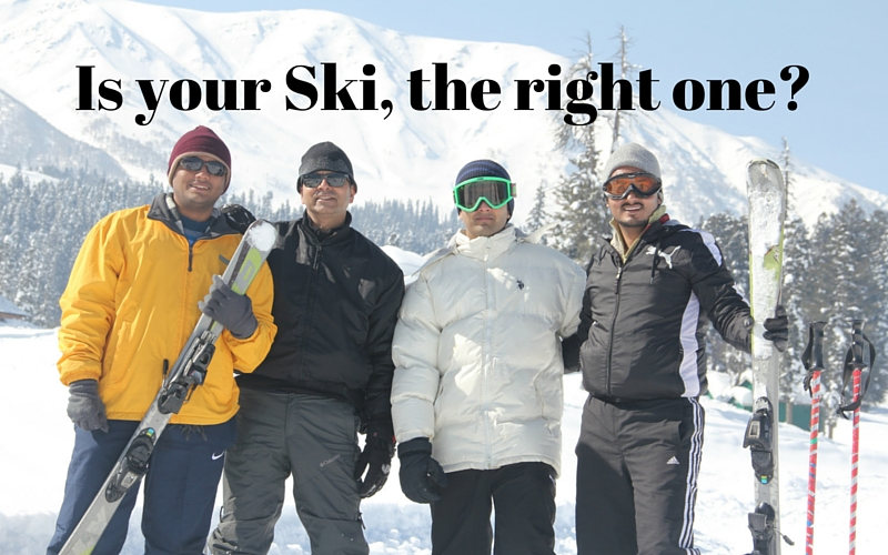 Choose the right ski_Ski gear