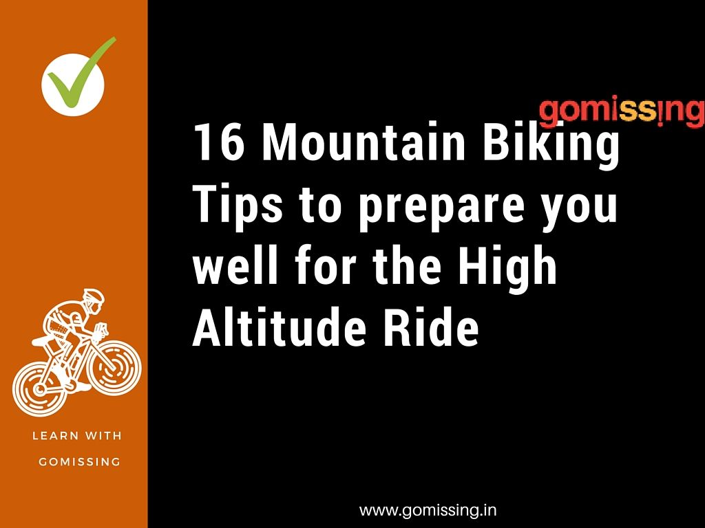16 mountain biking tips from Manali Leh cycling expedition