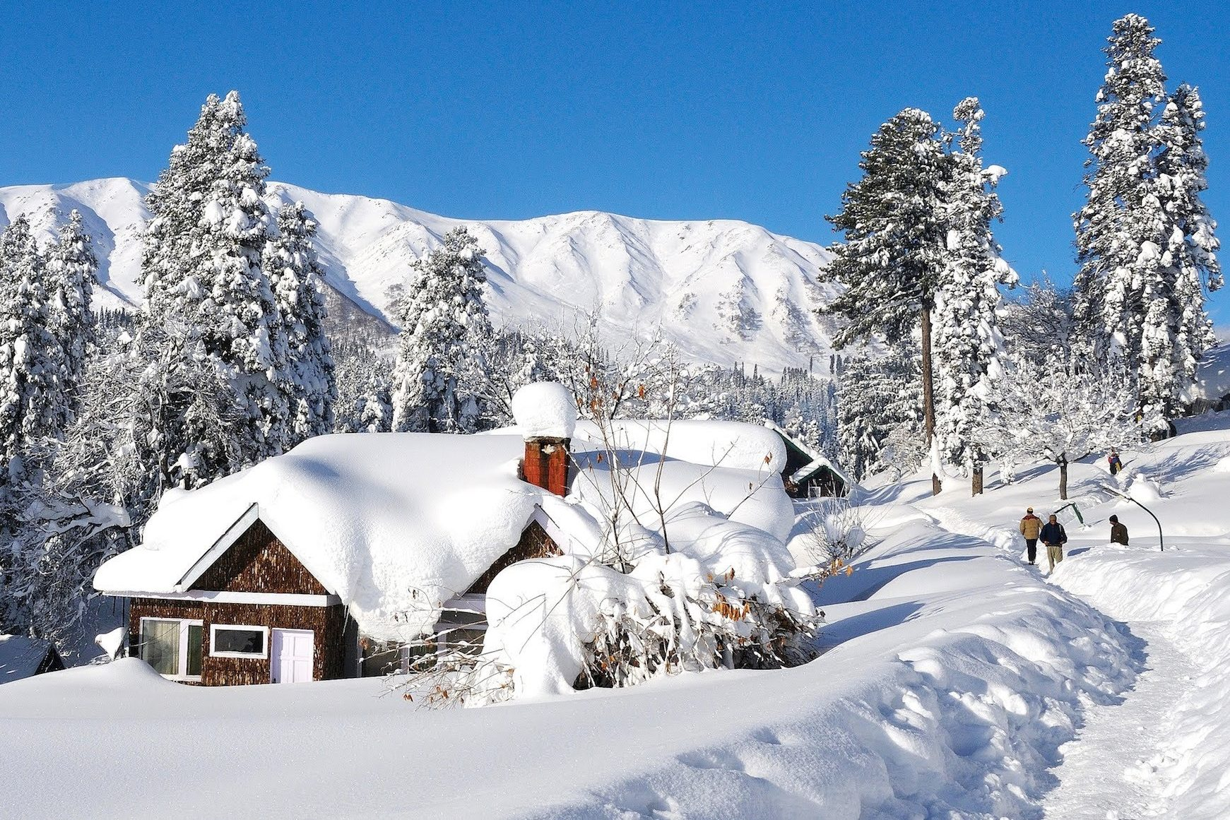 Gulmarg In Winters: A Gem in Kashmir's Crown